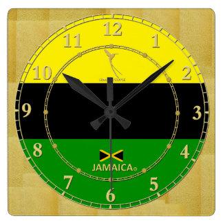 Jamaica colorea venta moderna del regalo del reloj