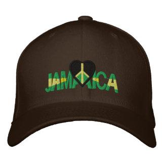JAMAICA LUV GORRA DE BEISBOL BORDADA