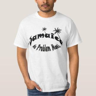 Jamaica ningún problema lunes camiseta
