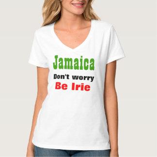 Jamaica no se preocupa sea camisetas del irie