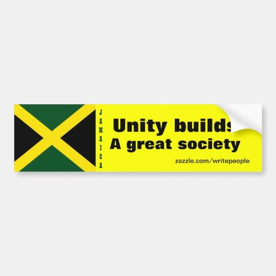 Jamaica Pegatina Para Coche