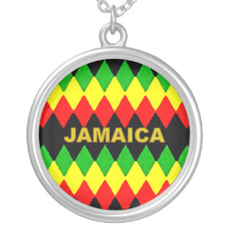 Jamaica Rasta colorea el collar