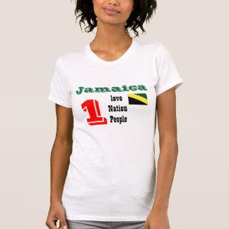 Jamaica un amor, una nación, camisetas de un peole