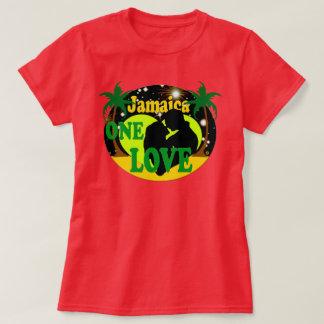Jamaica una puesta del sol del amor protagoniza la camiseta