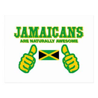 Jamaicans es naturalmente impresionante postal