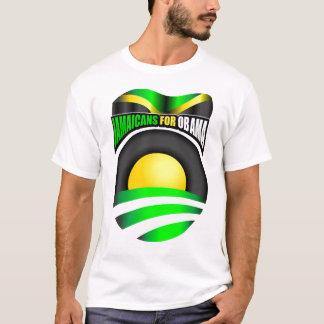 Jamaicans para Obama Camiseta