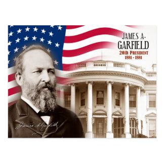 James A. Garfield - vigésimo presidente de los Postal