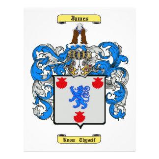 james (escocés) tarjeton