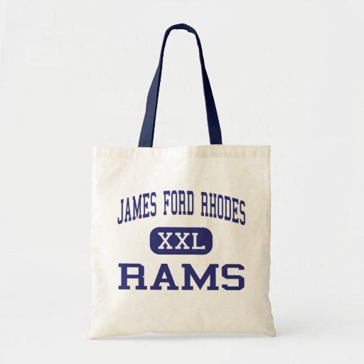 James Ford Rodas - espolones - alta - Cleveland Oh Bolsas De Mano