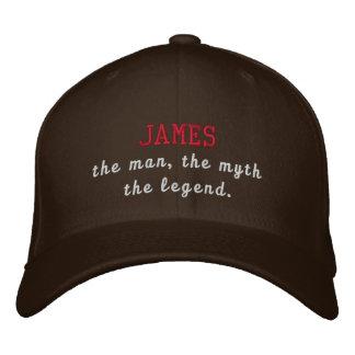 James la leyenda gorro bordado