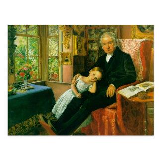 James Wyatt y su nieta Maria Postal