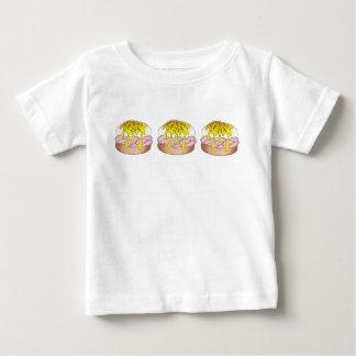 Jamón de Foodie de la comida del comensal del Camiseta De Bebé