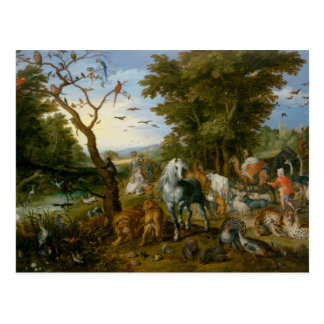 Jan Brueghel la anciano - la entrada de los Postal
