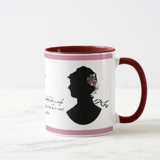 Jane Austen taza universal reconocida de la