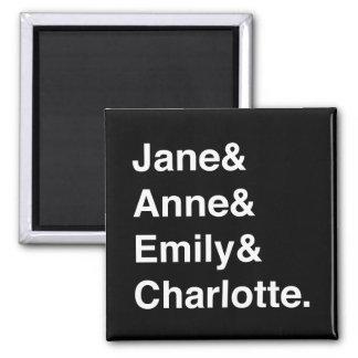 Jane Austen y el imán de Brontes