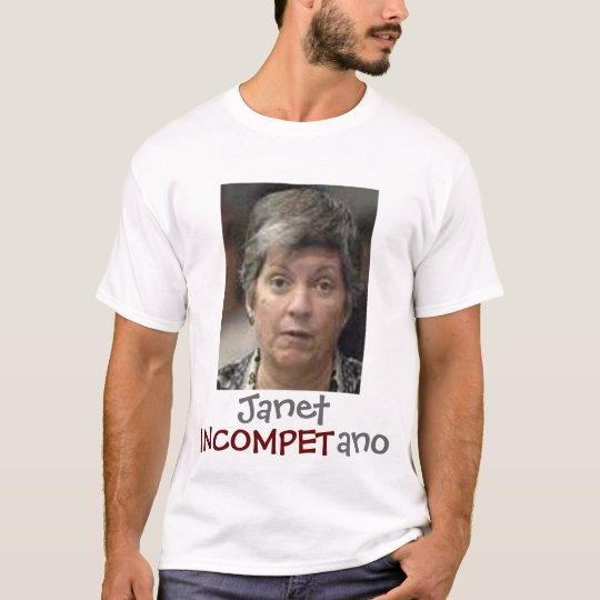 Janet Incompetano Camiseta