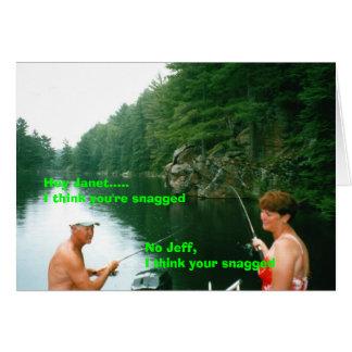janet y jeff tarjeta de felicitación