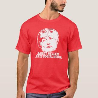 Janet Yellen odia medios sociales Camiseta