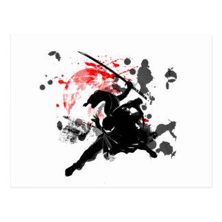 Japón Ninja Postal