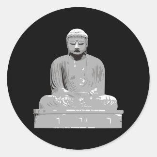 Japonés Buda Pegatinas