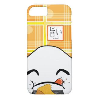 Japonés codicioso divertido Manga Onigiri Funda iPhone 7