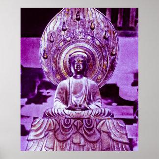 Japonés Daibutsu Buda del vintage Impresiones