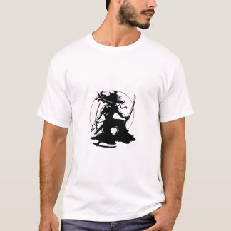 Japonés de la camiseta del samurai