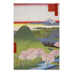 "Japonés Ukiyo-e de ""nuevo Fuji"" Posters"