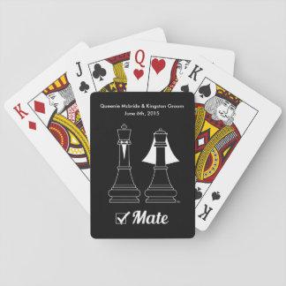 Jaque mate barajas de cartas