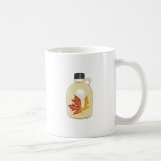 Jarabe de arce taza de café