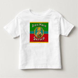 Jarabe LabelCairo, GA de la criada de Dixie Camiseta De Bebé