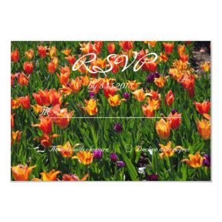 Jardín anaranjado RSVP Invitación 8,9 X 12,7 Cm