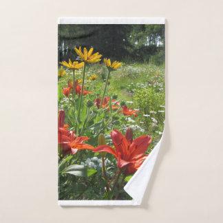 ¡Jardín colorido de la primavera! Geométrico