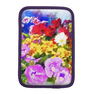 Jardín de flores funda para iPad mini