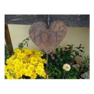 Jardín de la esperanza postal