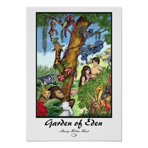 Jardín de la impresión de Eden - modificada para
