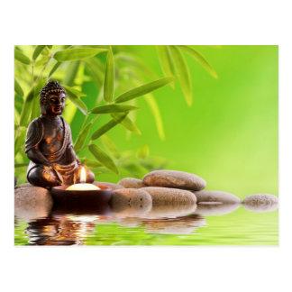 jardín de la serenidad del zen de Buda Postal