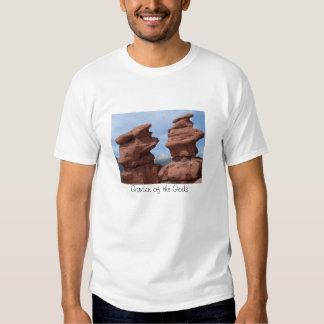 Jardín de los gemelos siameses de dioses camisetas