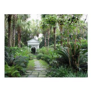 Jardín de los Palmettos del SC de Charleston y Postal