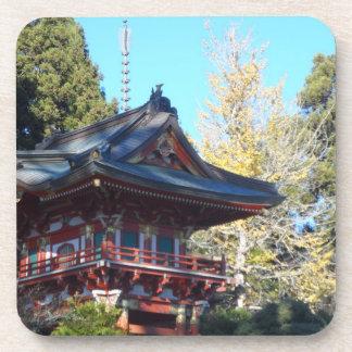 Jardín de té japonés San Francisco Posavasos