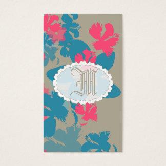 Jardín floral tarjeta de negocios