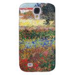 Jardín floreciente, Vincent van Gogh