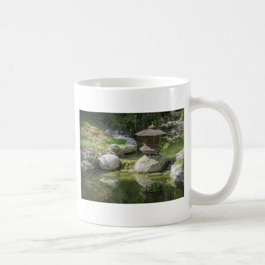 Jardín japonés 1 taza de café