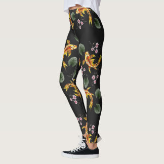 Jardín japonés leggings