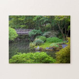 Jardín japonés, Portland, Oregon, los E.E.U.U. 2 Puzzle