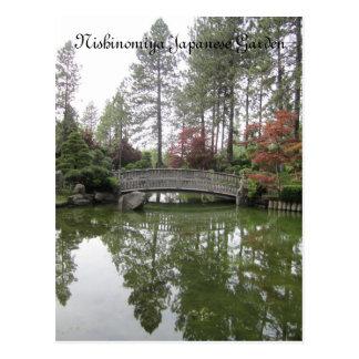 Jardín japonés postal