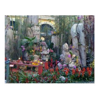 Jardín oriental postales