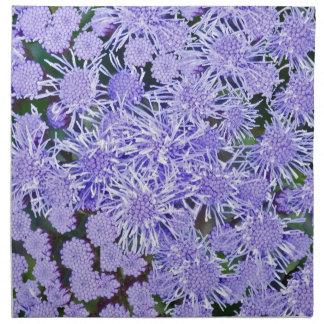 Jardín púrpura de momias servilleta de tela