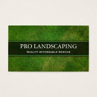 Jardinero/ajardinar la tarjeta de visita