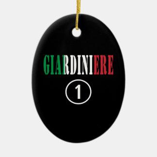 Jardineros italianos: Uno de Giardiniere Numero Ornamento Para Arbol De Navidad